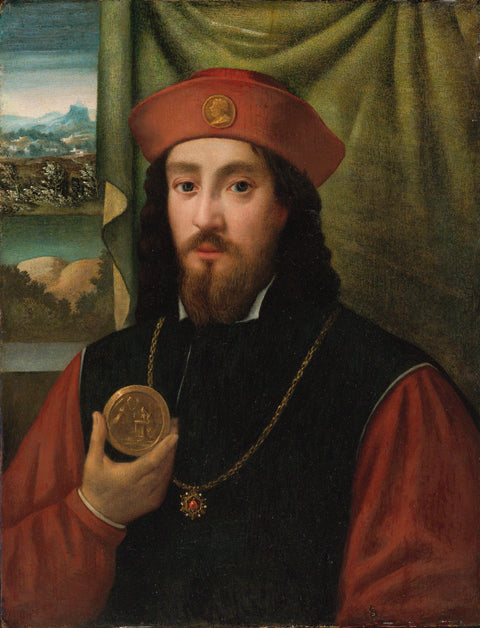 Portrait of a Man with Medal