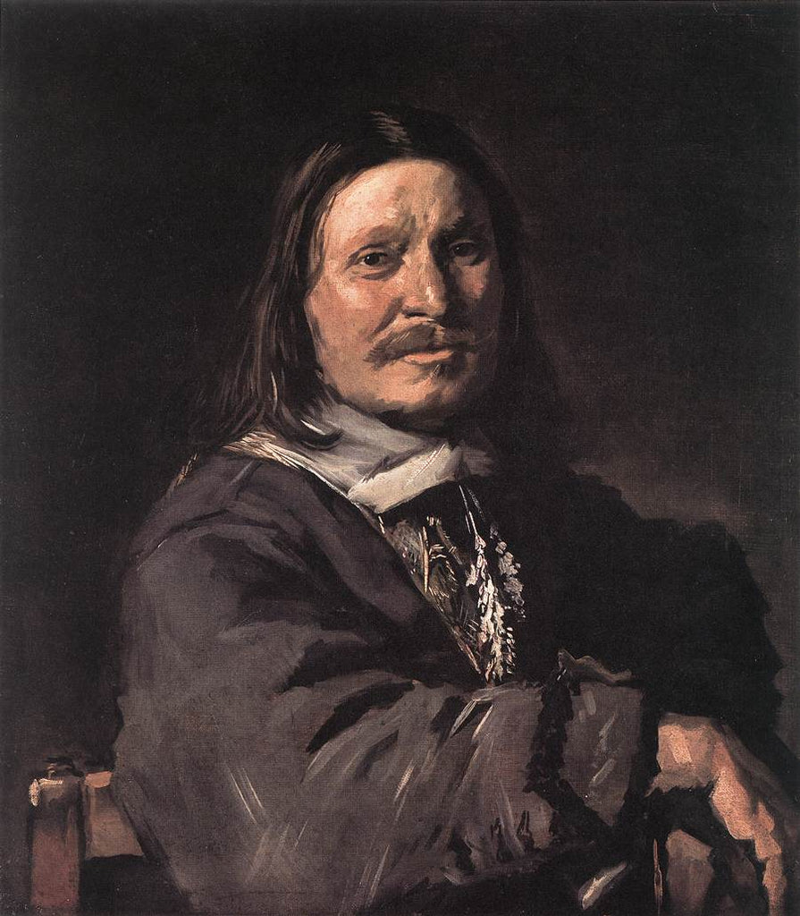 Portrait of a Seated Man I