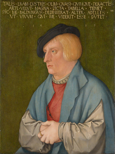 Portrait of a Young Man II