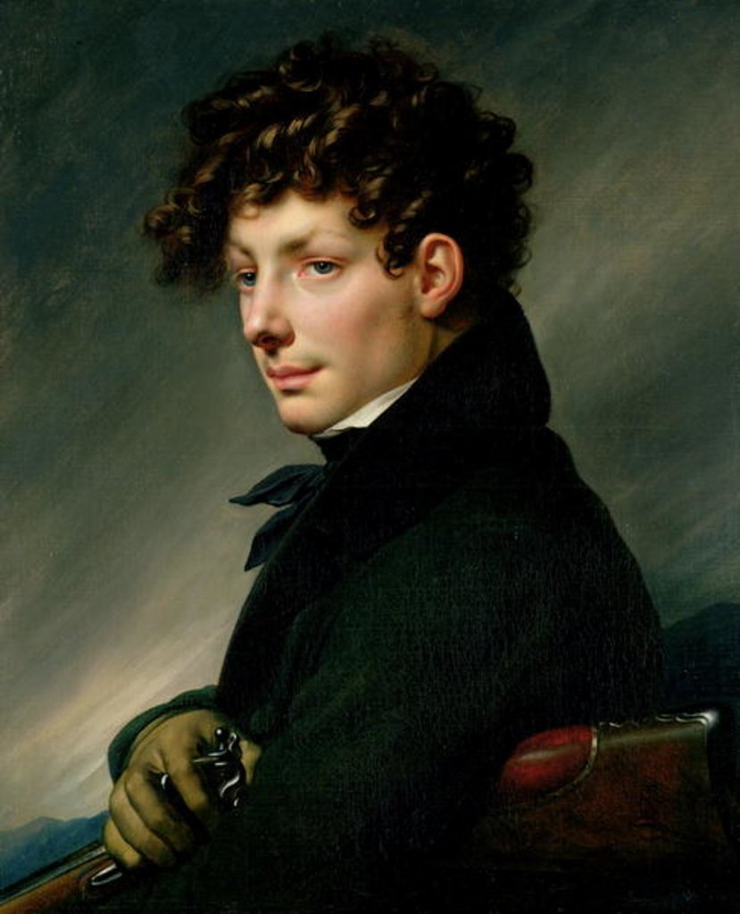 Portrait of a Young Man as Hunter
