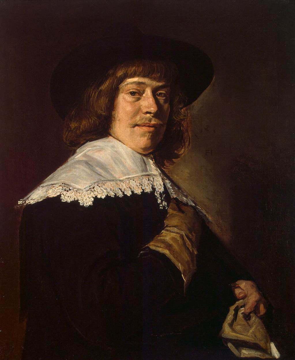 Portrait of a Young Man with a Glove