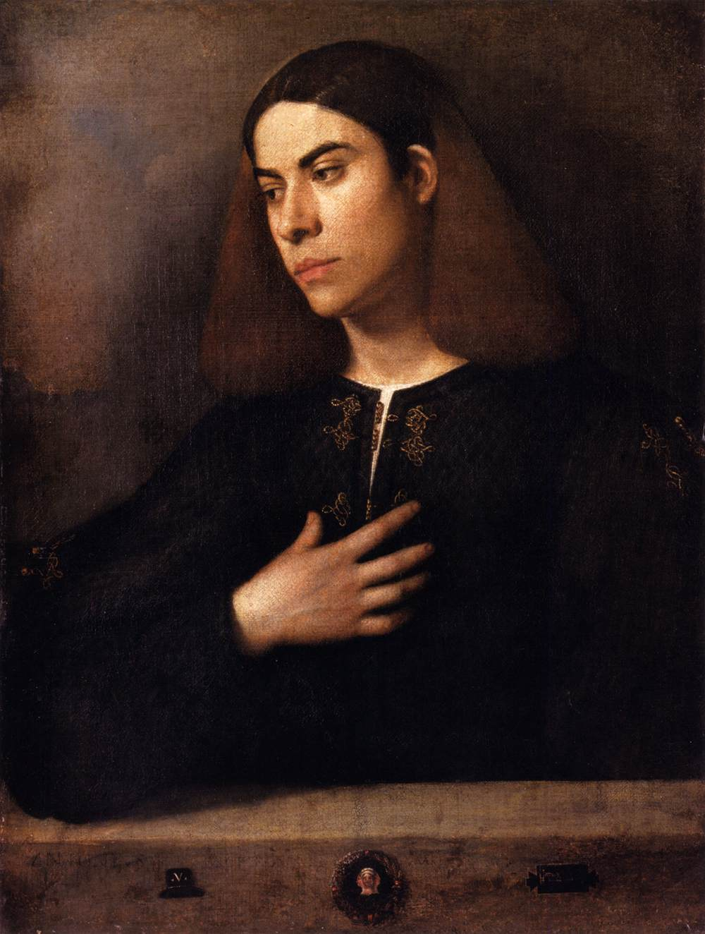 Portrait of a Youth (Antonio Broccardo)