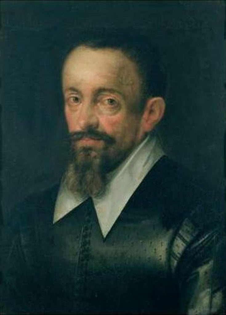 Portrait of a man, possibly Johannes Kepler