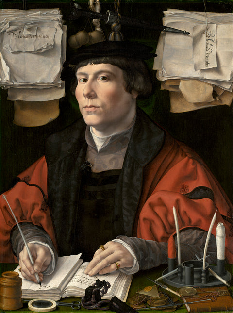 Portrait of a merchant