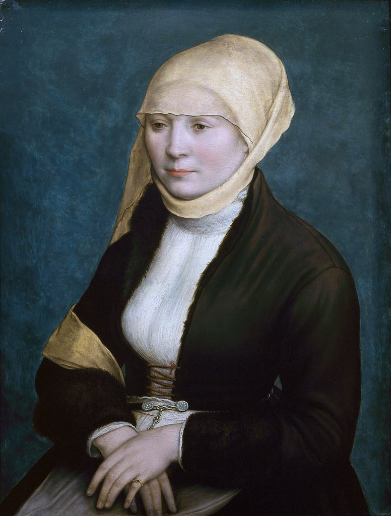 Portrait of a woman from southern Germany .