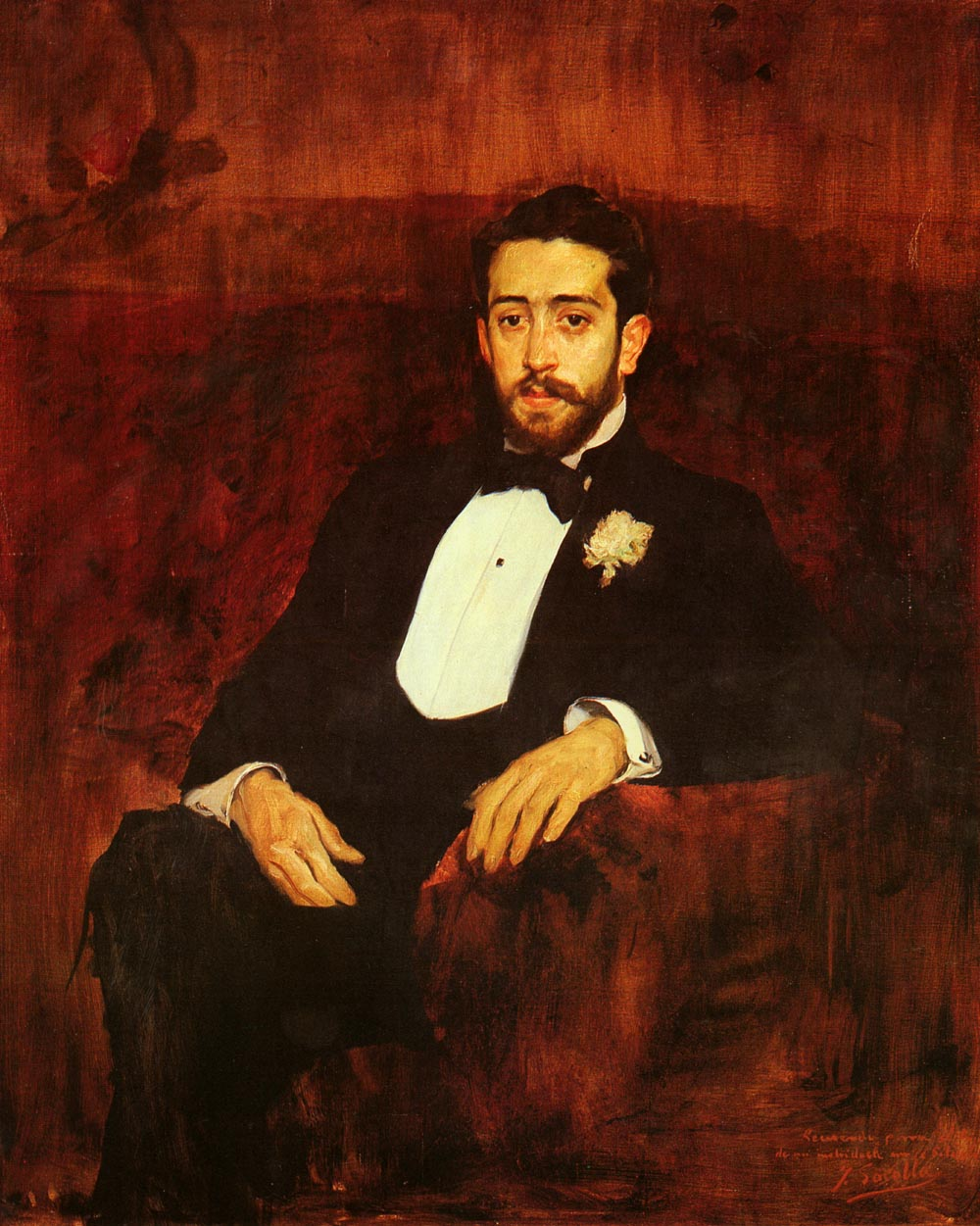 Portrait of lawyer Don Silverio de la Torre y Eguia