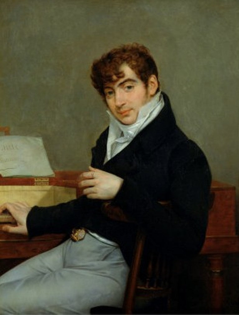 Portrait of the French Composer Pierre Zimmermann