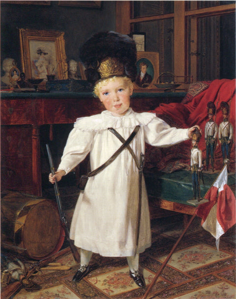 Portrait of the Future Emperor Franz Josef I of Austria