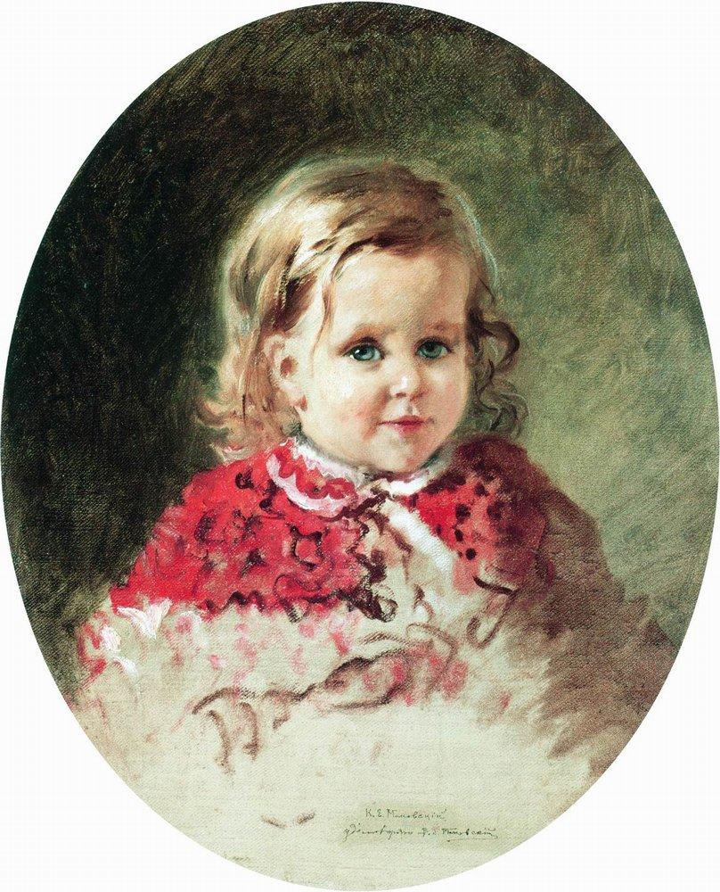 Portrait of the Girl Zhenia