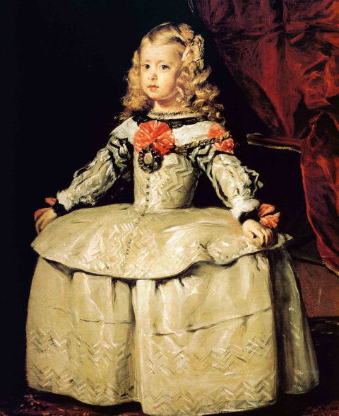 Portrait of the Infanta Margarita Aged Five