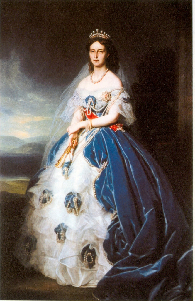 Portrait of the Queen Olga of Württemberg