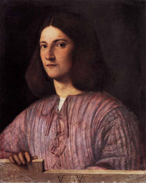 Portrait of young man (Giustiniani Portrait)