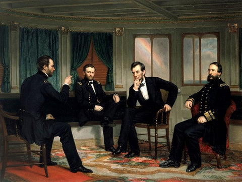 President Lincoln and Friends