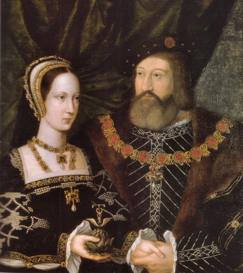Princess Mary Tudor and Charles Brandon, duke of Suffolk
