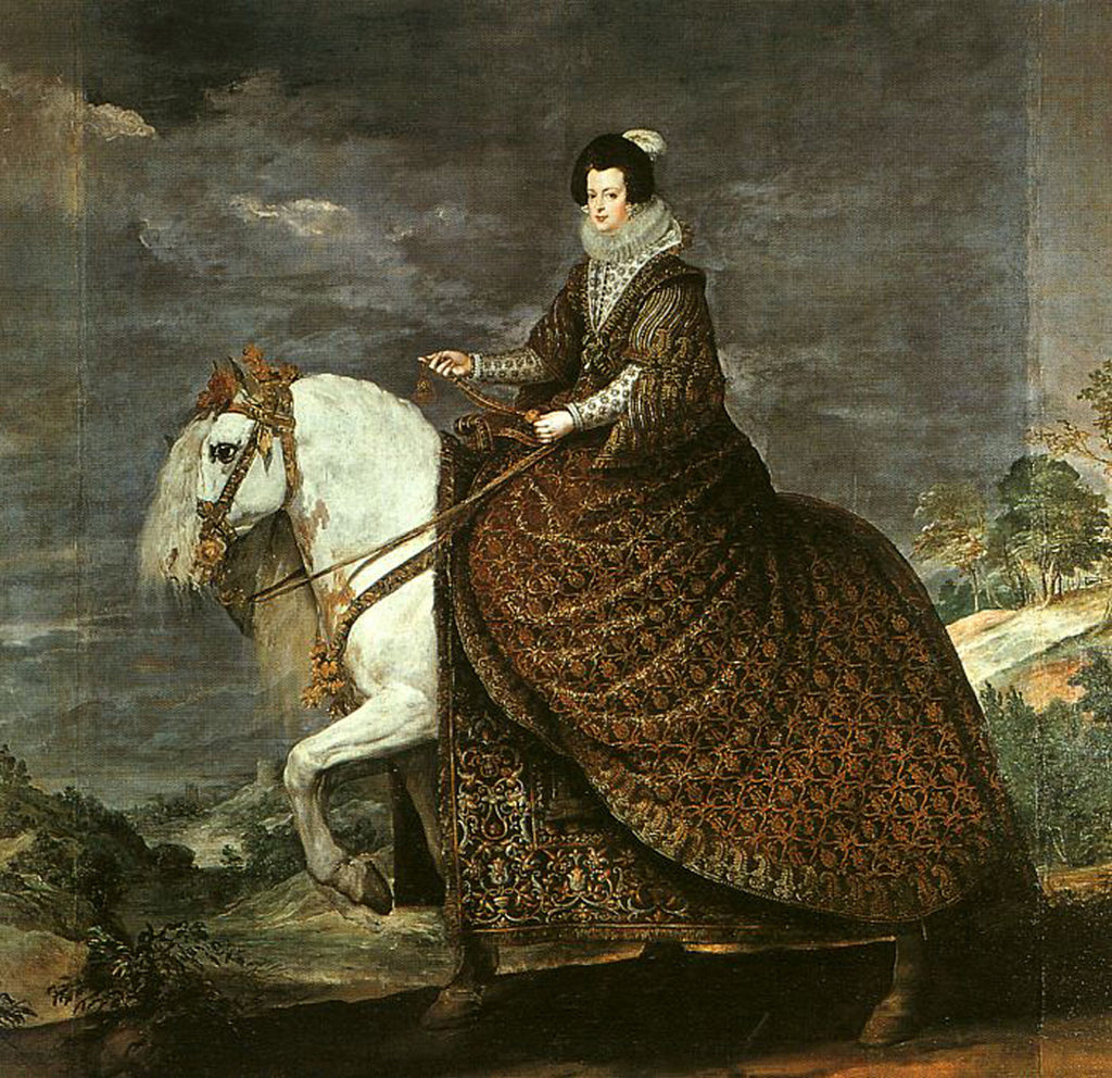 Queen Isabel of Bourbon Equestrian