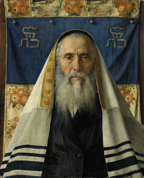 Rabbi with Prayer Shawl