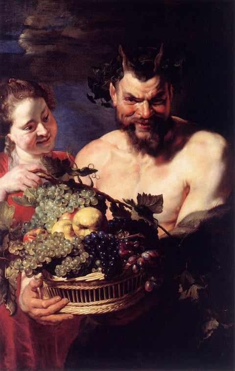 Satyr and Girl