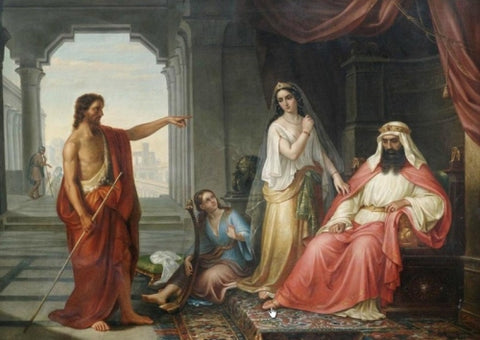 Sermon of John the Baptist before Herod