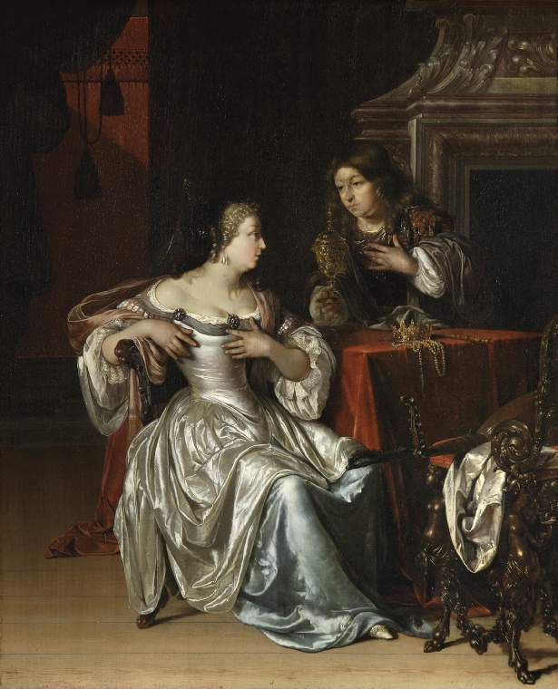 Tancred's Servant Presenting the Heart of Guiscard in a Golden Cup to Guismond