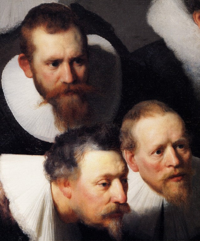 The Anatomy Lesson of Dr. Nicolaes Tulp(fragment)