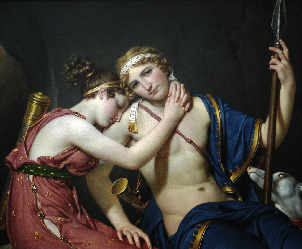 The Farewell of Telemachus and Eucharis