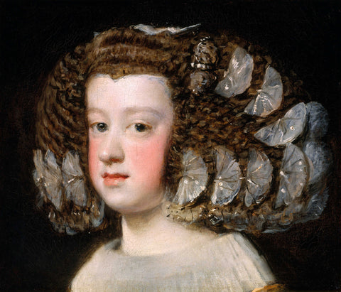 The Infanta Maria Theresa, daughter of Philip IV of Spain