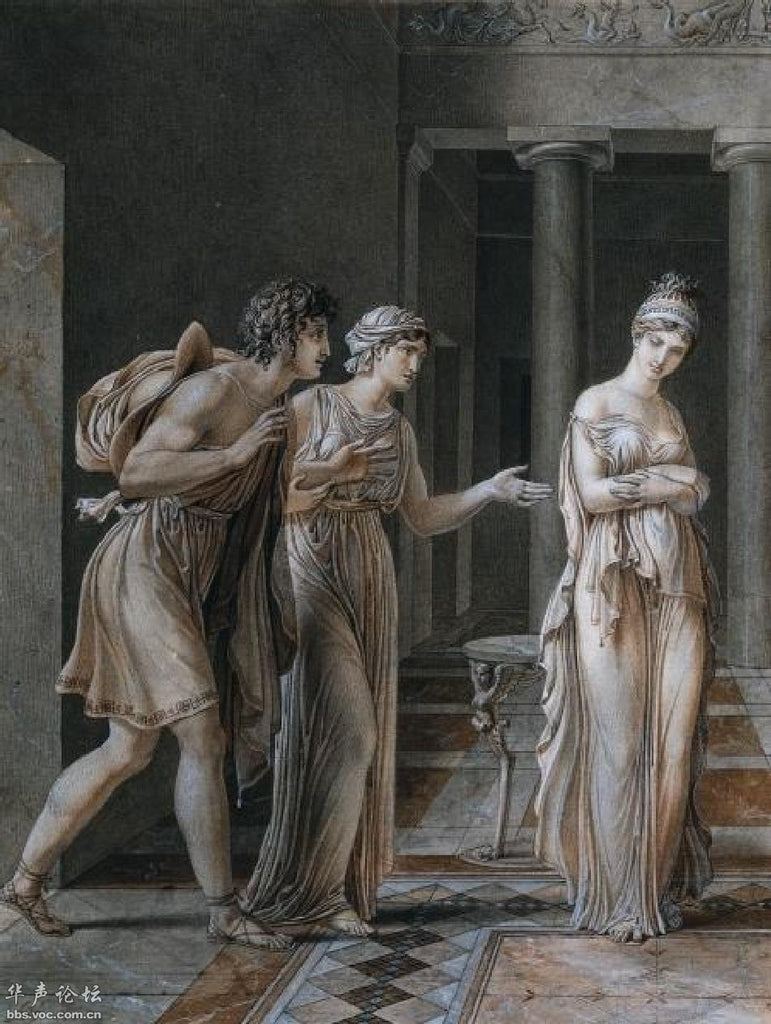 The Meeting of Orestes and Hermione