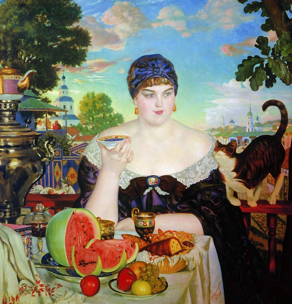 The Merchant's Wife at Tea