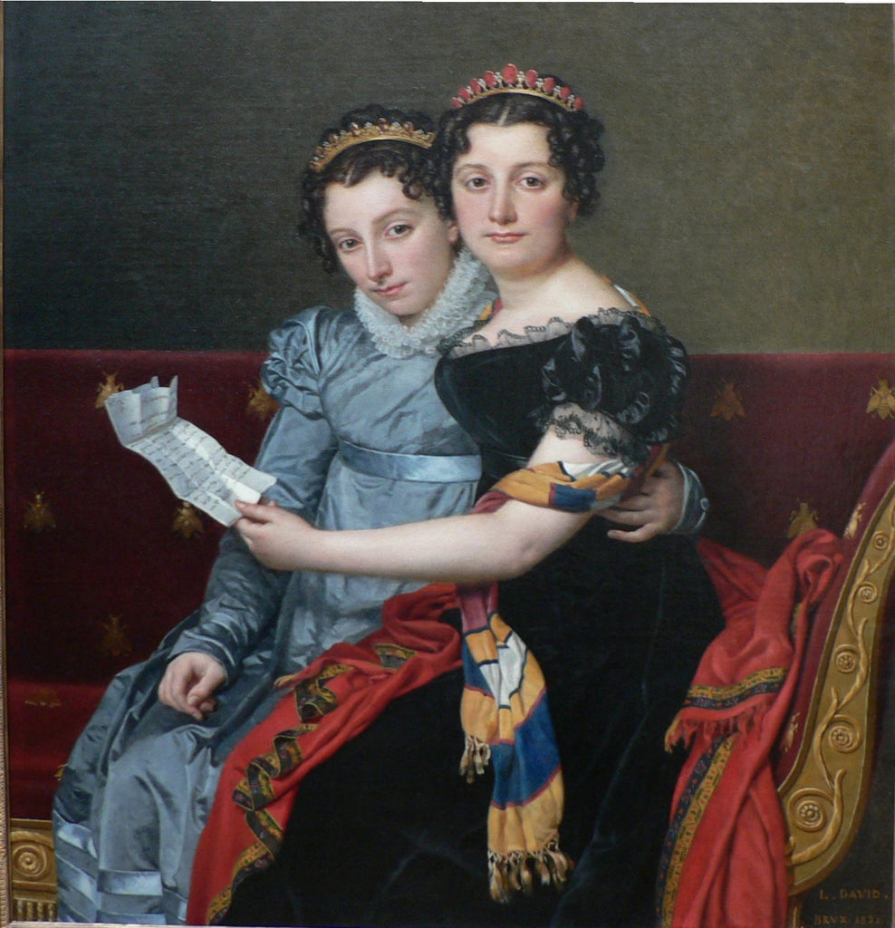 The Sisters Zenaide and Charlotte-Bonaparte