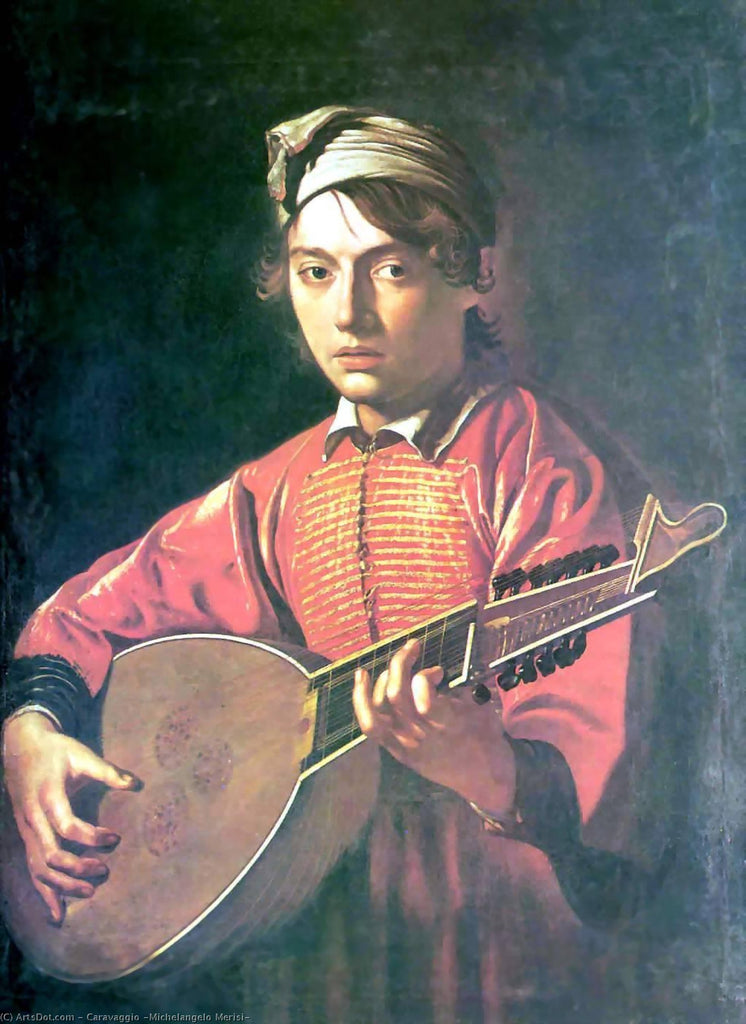 The lute player I