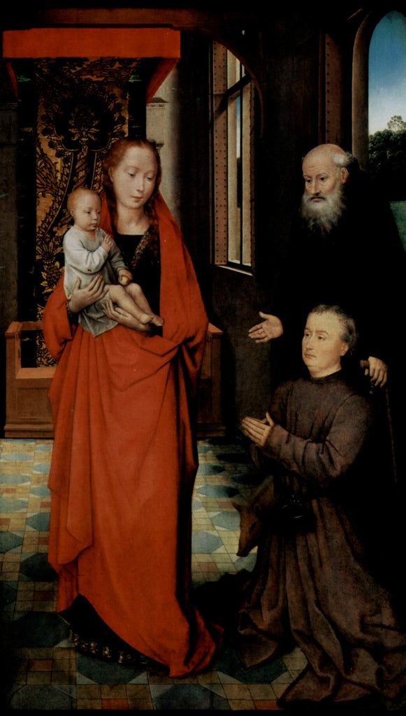 Virgin and Child with St. Anthony the Abbot and a Donor