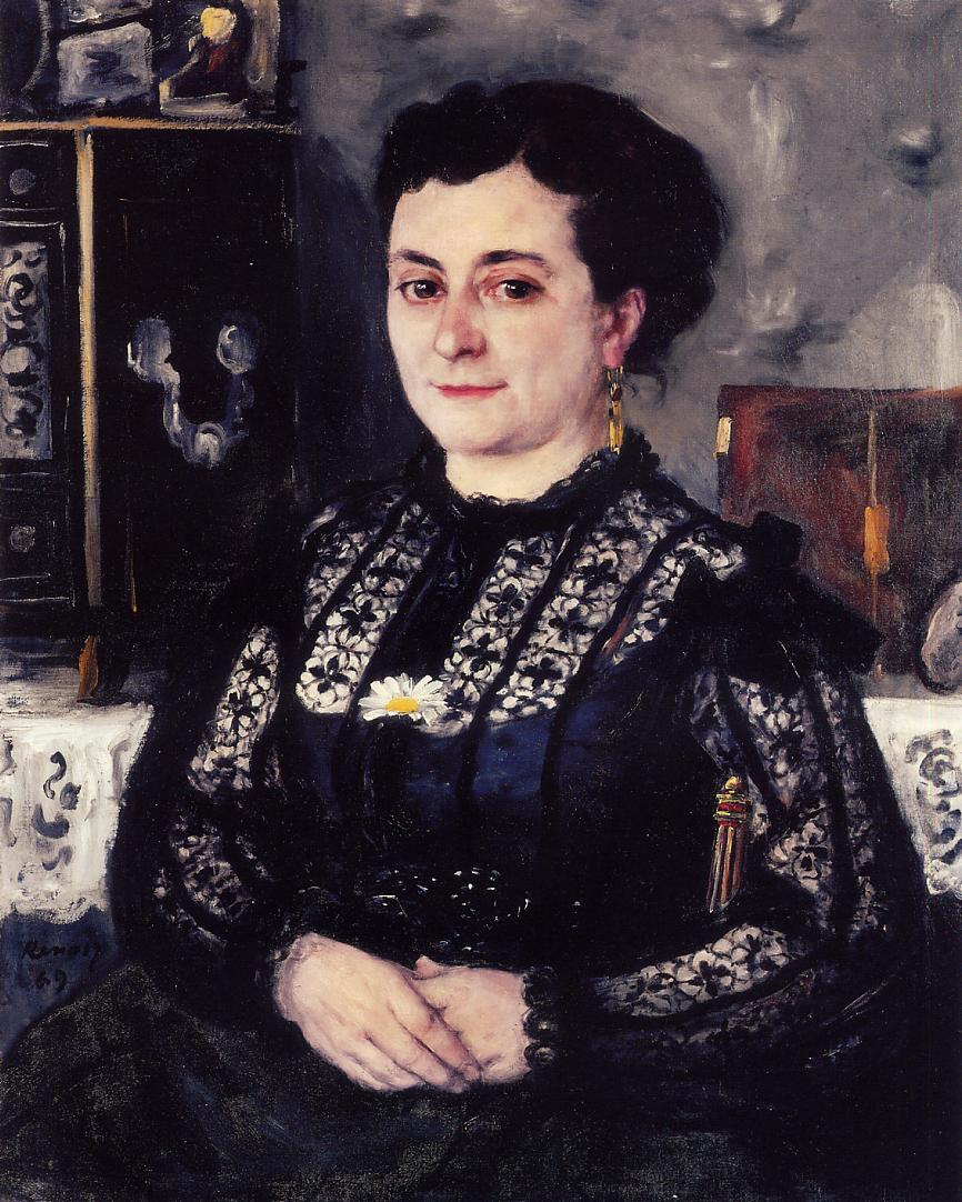 Woman in a Lace Blouse