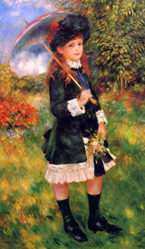 Young Girl with a Parasol (Aline Nunès)