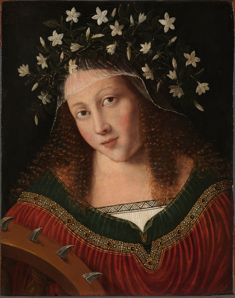 Young Woman as Saint Catherine