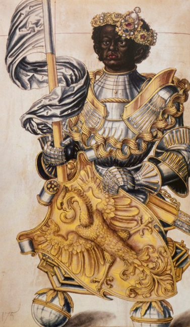 Design for Reliquary Bust of St. Maurice