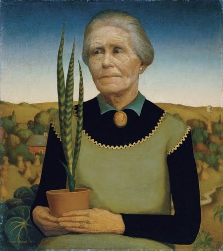 Women with plants