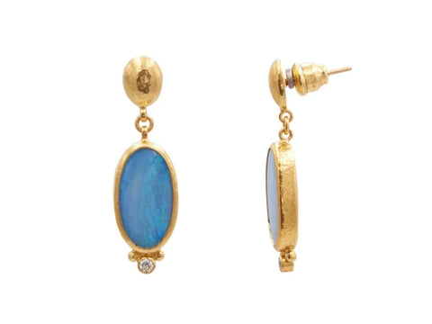 Gurhan Opal Earrings