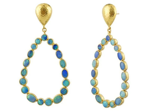 Gurhan Opal Pointelle Dangle Earring