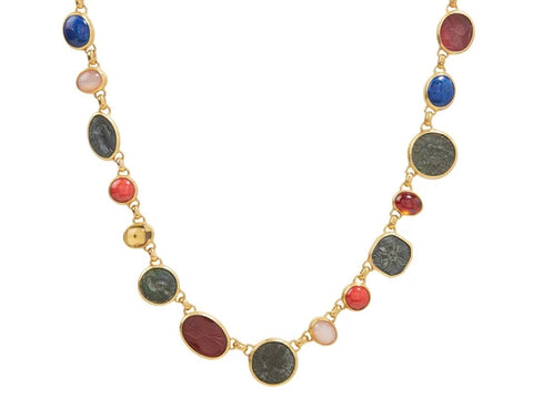 Gurhan 24k Gold Antiquities All Around Necklace