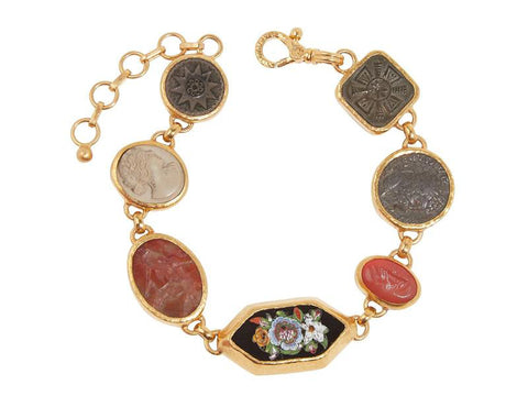 Gurhan 24k Gold Antiquities All Around Bracelet