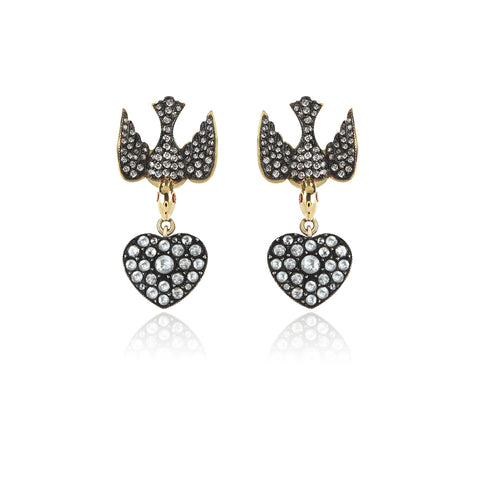 Aida Bergsen Lovebirds Earring