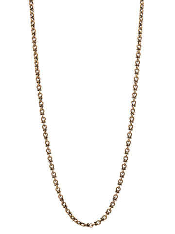 John Varvatos - BRASS NECKLACE
