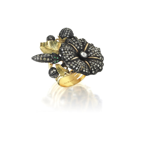 Aida Bergsen Moonflower Ring