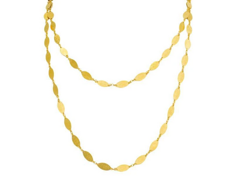 Gurhan 24k Gold Willow Necklace 40""
