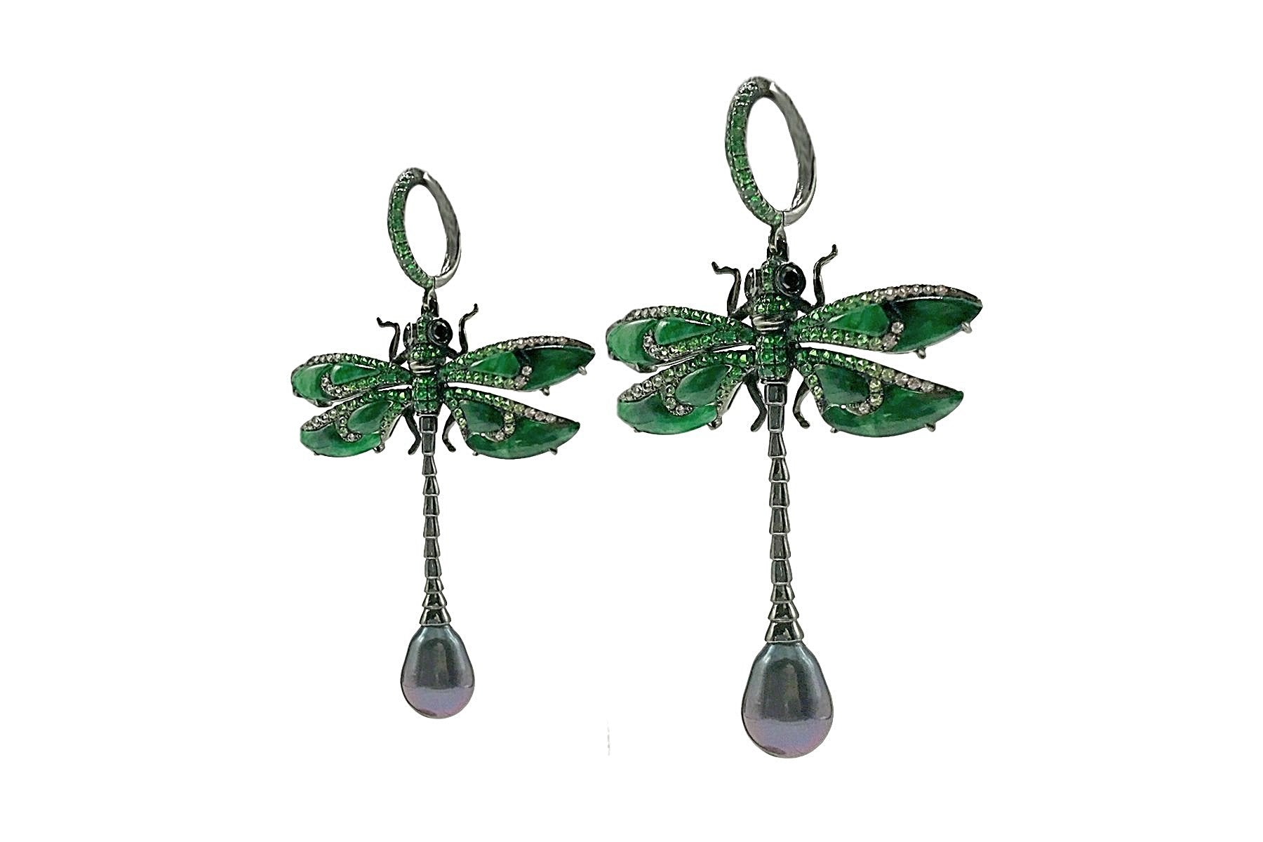 Wendy Yue - Dragonfly Earrings - DE10370H