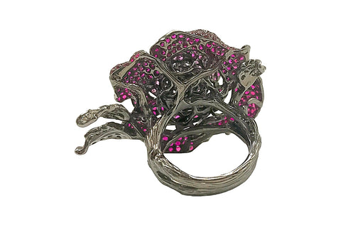 Wendy Yue - Pave Rose Ring - DR12658
