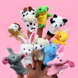 I Want It Baby 10Pcs Animal Finger Puppets