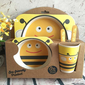 I Want It Baby Bee Eco-Friendly Kids Dining Set