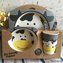 I Want It Baby Cow Eco-Friendly Kids Dining Set