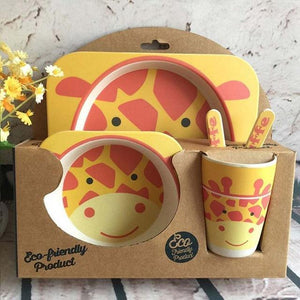 I Want It Baby Giraffe Eco-Friendly Kids Dining Set